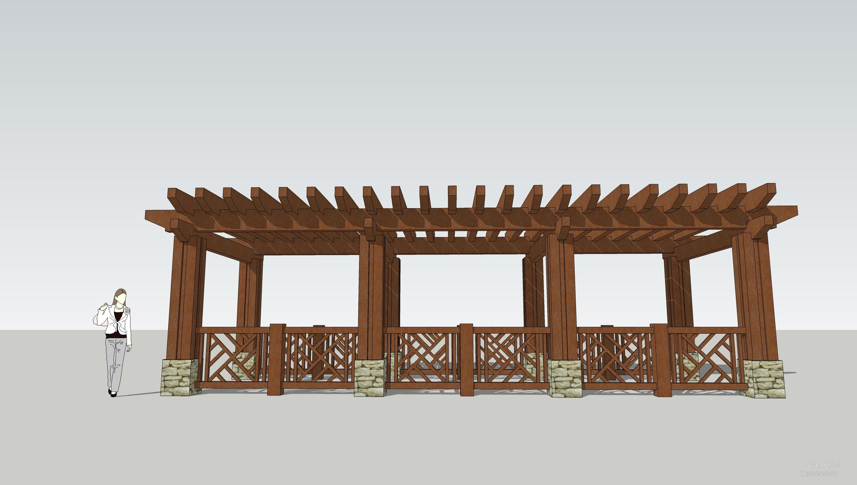 廊架 欧式廊架 景观小品 景观廊架